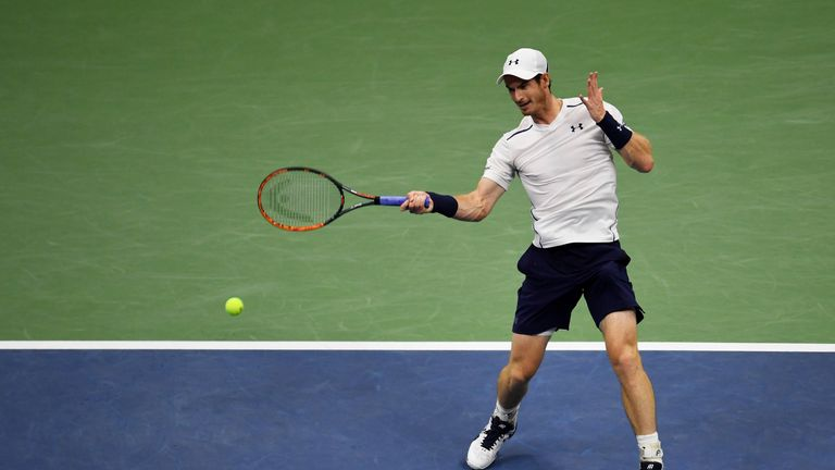 Andy Murray was rarely in danger from his outmatched opponent