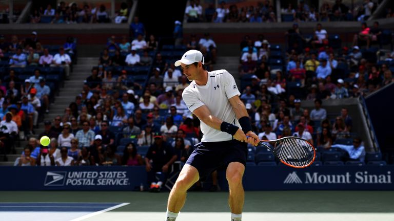 Murray was unable to cope with Nishikori's crushing forehands