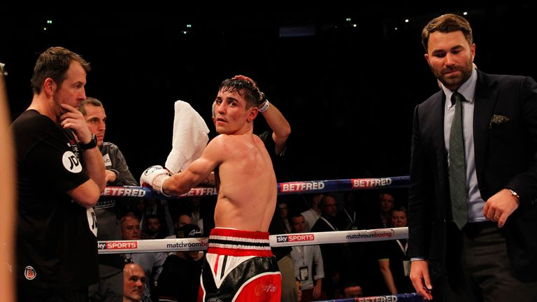 Anthony Crolla and promoter Eddie Hearn are looking at a rematch