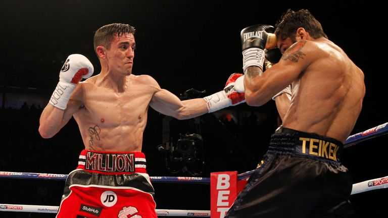 Crolla did come back into in the middle rounds
