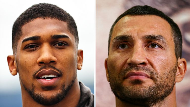 Joshua is undefeated and would face his toughest test to date in Klitschko