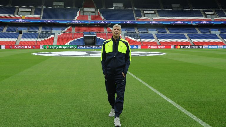 Arsene Wenger says he is not the man for England as he is French