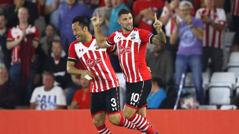 Charlie Austin scored a brace in only his second start of the season