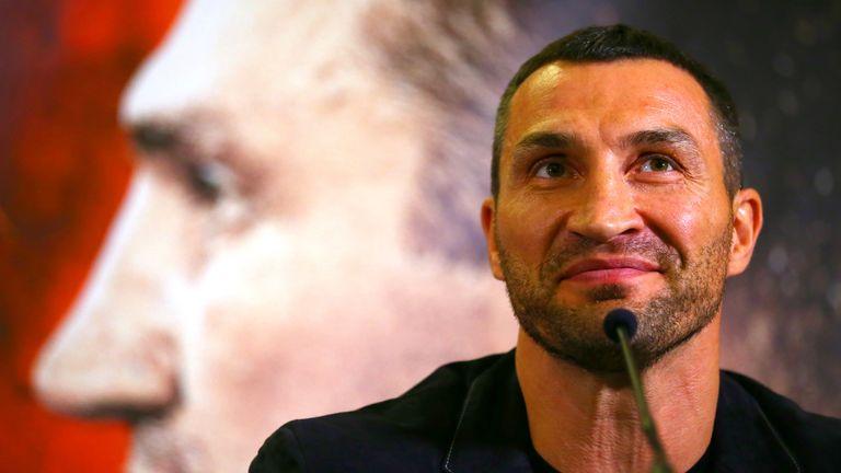 Wladimir Klitschko had been due to face Tyson Fury