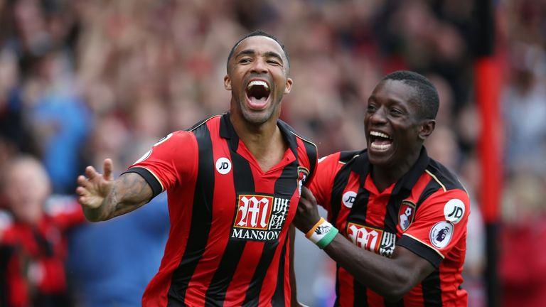 Callum Wilson (left) has scored three goals and provided one assist this season