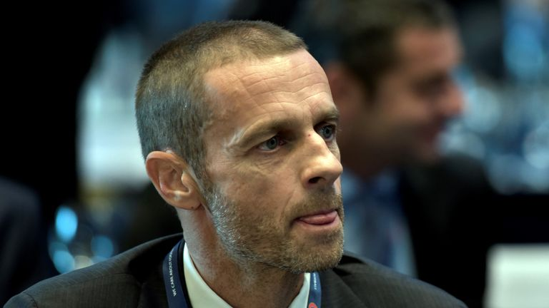 UEFA president Aleksander Ceferin says Brexit will make it more difficult for European players to enter the UK