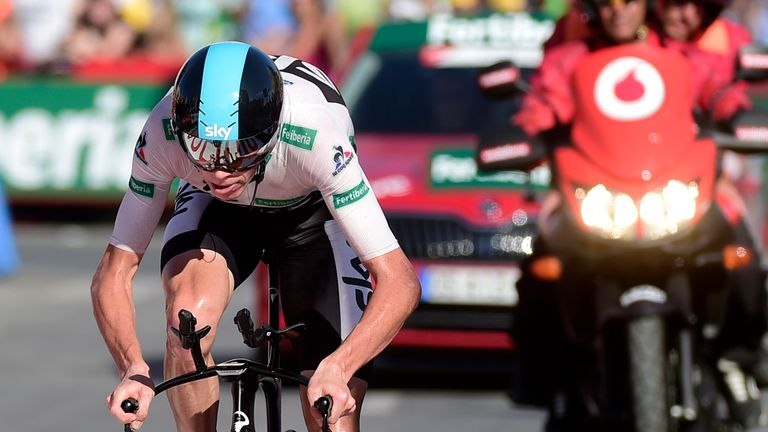 Chris Froome produced a brilliant performance in the time trial