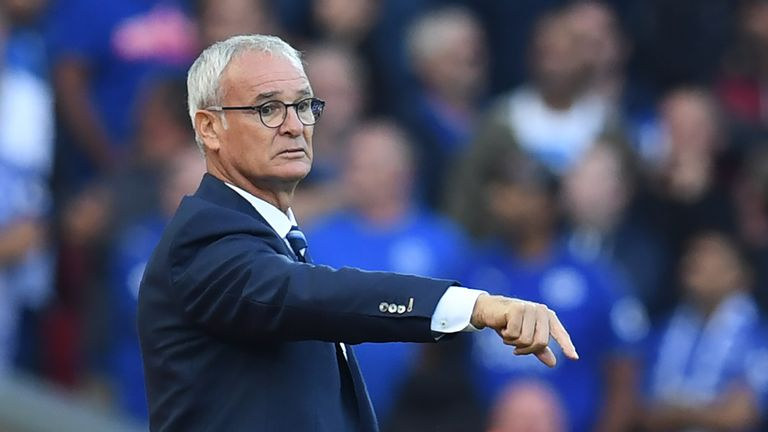Ranieri's champions are just a point above the relegation places