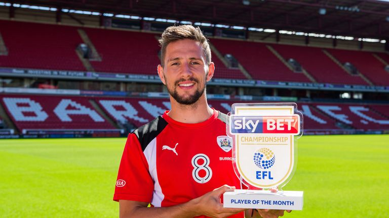Barnsley midfielder Conor Hourihane has scored two goals and set up three others at the start of this season