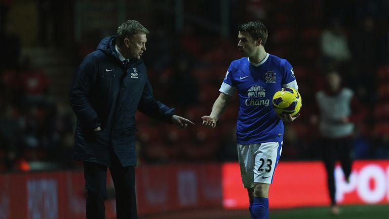 David Moyes gave Seamus Coleman his Everton debut