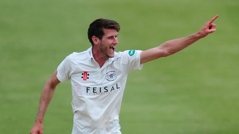Gloucestershire's David Payne bagged four wickets on day one against Durham