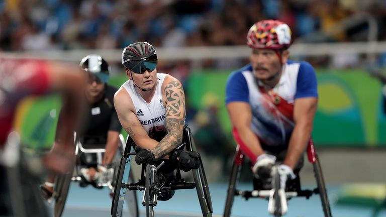 """Weir had what he called a """"terrible"""" Paralympics in Rio as he failed to win a medal"""