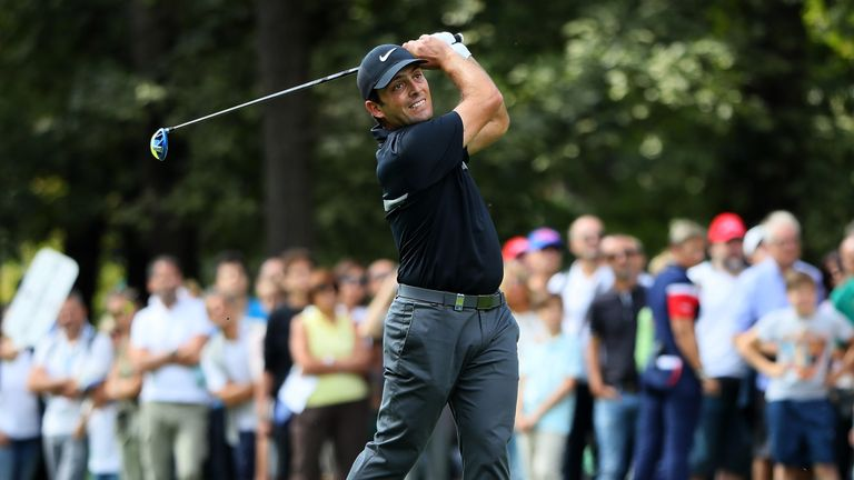 Molinari made a hot start to his final round with an eagle at the first