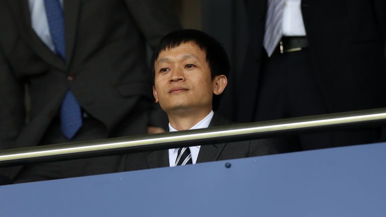 Pardew insisted it is not 'unusual' that he has not met West Brom's owner, Guochuan Lai