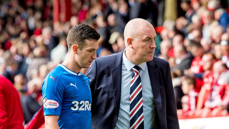 Manager Mark Warburton is disappointed by Rangers' erratic form in recent weeks