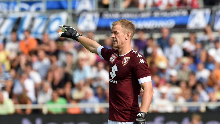 Joe Hart had a debut to forget for Torino