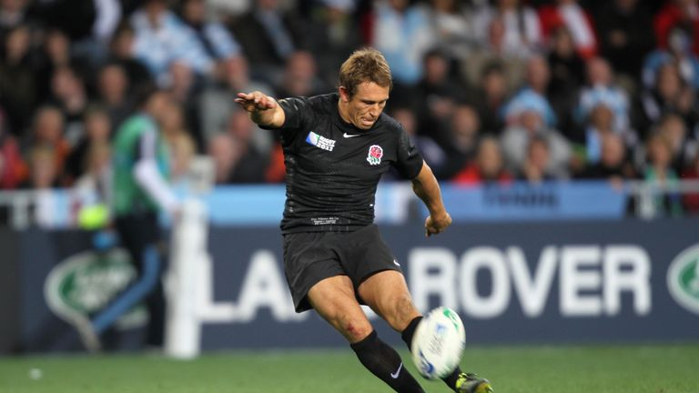 Wilkinson struck 1,179 points in his England career, while Farrell has 562 to date