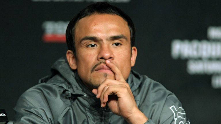 Juan Manuel Marquez will be an interested spectator on Saturday
