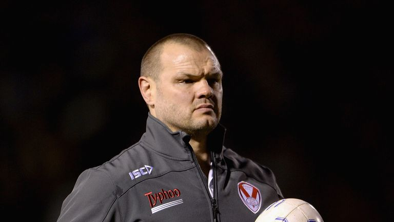 Keiron Cunningham represented Saints 496 times before becoming their coach