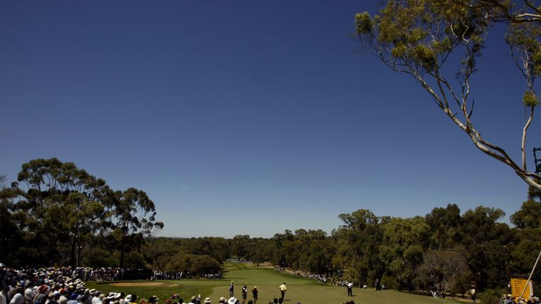The 9th hole at Lake Karrinyup, which will host the new tournament on the European Tour