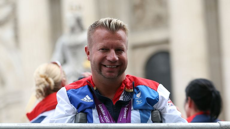 Lee Pearson will carry ParalympicsGB's flag at the opening ceremony in Rio