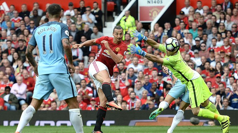 Bravo's error allowed Zlatan Ibrahimovic to score