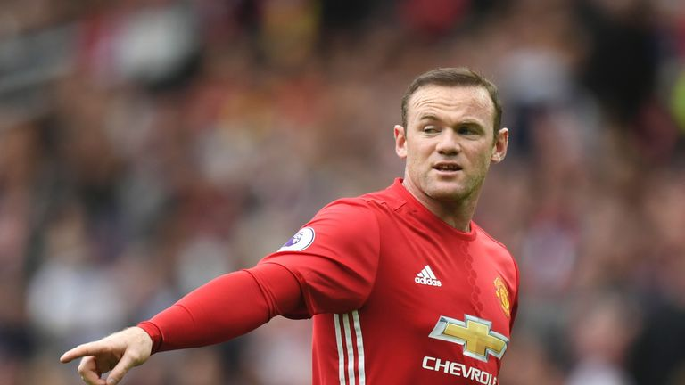 Wayne Rooney won't play for United on Sunday