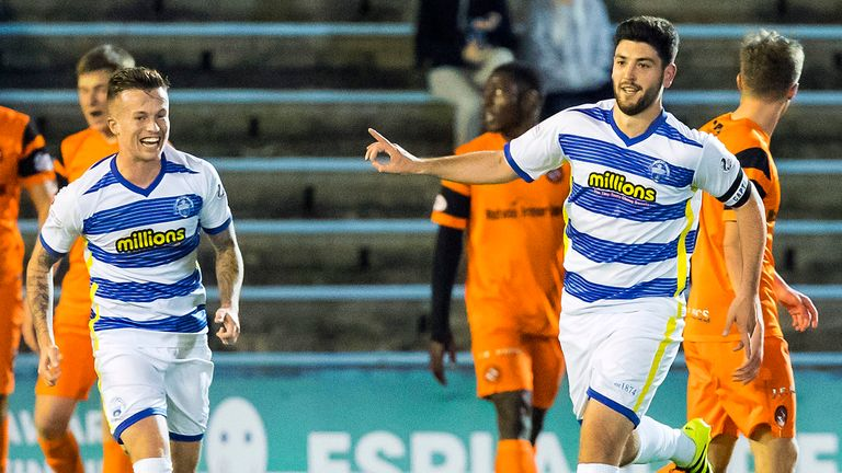 Morton lost the game 3-2 to St Johnstone
