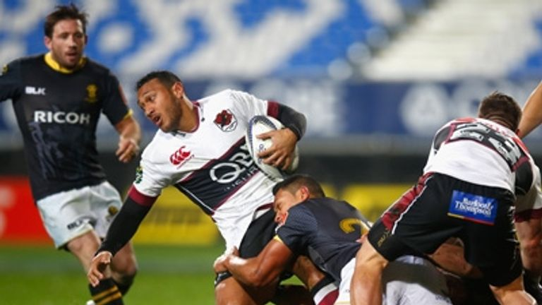 Nafi Tuitavake in action for North Harbour in the ITM Cup