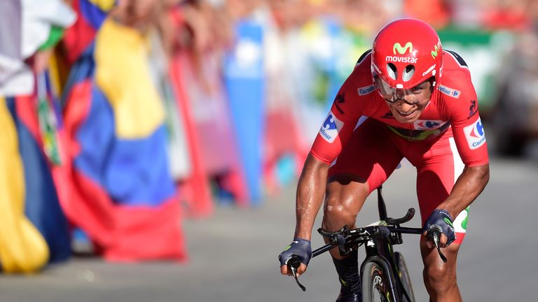Nairo Quintana finished 11th on the stage