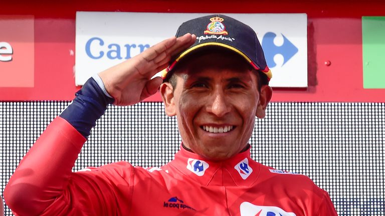 Nairo Quintana is set to win the Vuelta a Espana for the first time