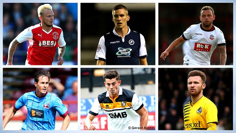 PFA Fans' Player of the Month - League One nominees