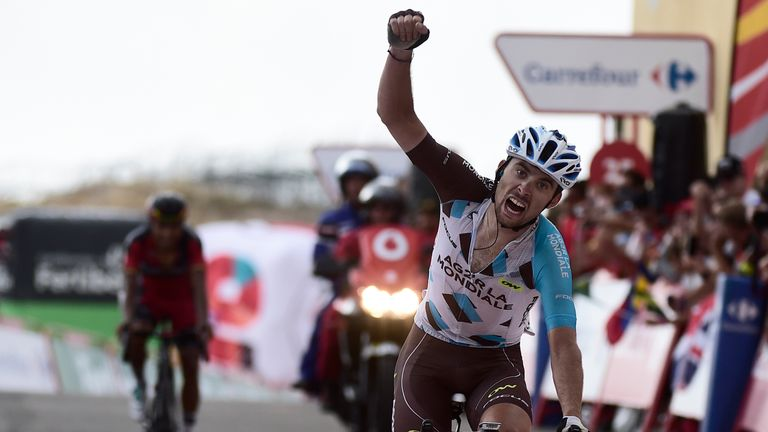 Pierre Latour won stage 20 out of the breakaway
