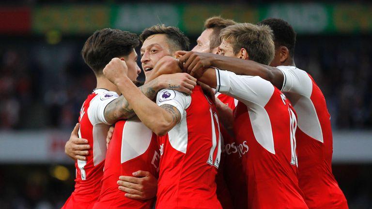 Arsenal ended their winless run over Chelsea