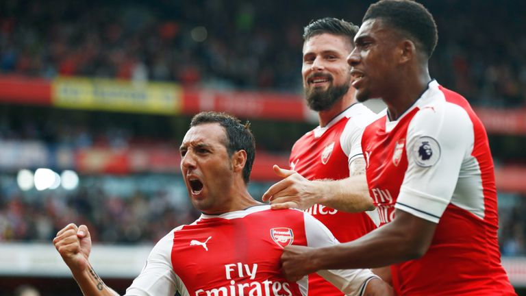 Cazorla became a key component in Arsenal's midfield