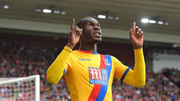 Christian Benteke joined Crystal Palace from Liverpool over the summer
