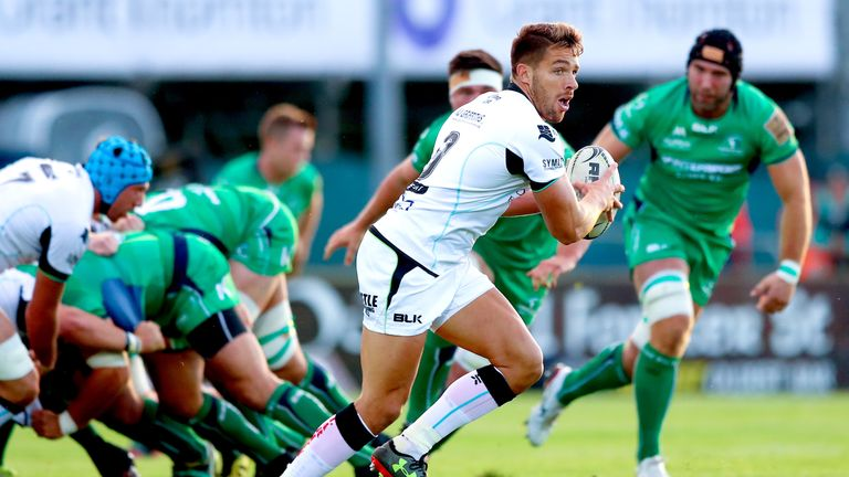 Rhys Webb put in a man of the match display for Ospreys