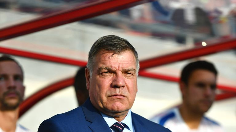 Allardyce took charge of just one game as England manager - a 1-0 win in a World Cup Qualifier away to Slovakia