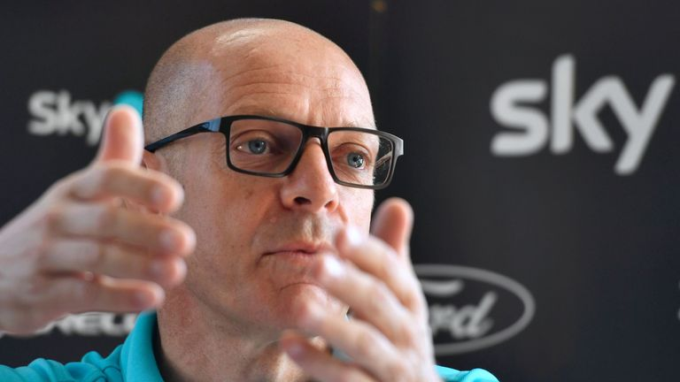 Brailsford says Team Sky is a '100% a clean operation'
