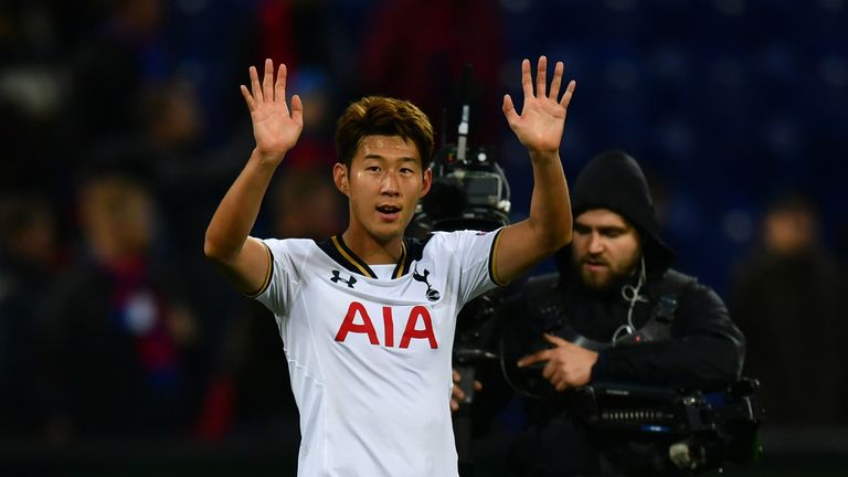 Heung-Min Son is back from playing for South Korea