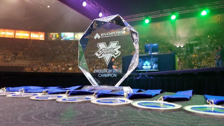 Street Fighter Trophy - Evo 2016