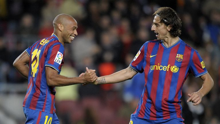 Ibrahimovic picked up four medals at Barcelona