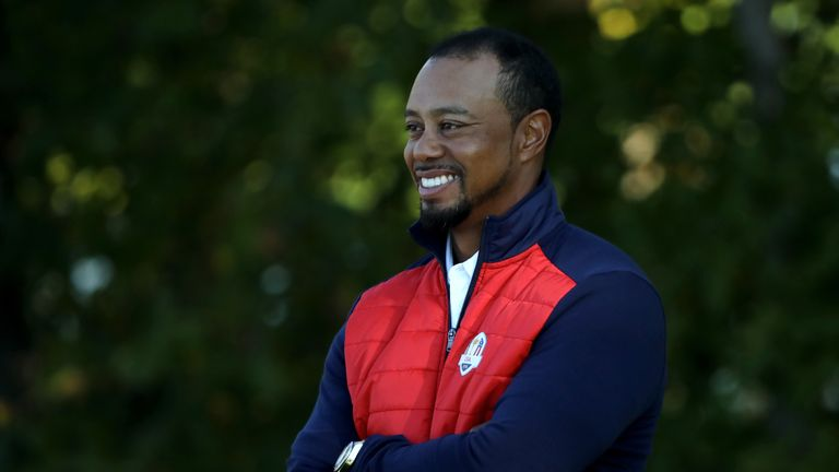 Woods was also a vice-captain to Stricker at the 2017 Presidents Cup