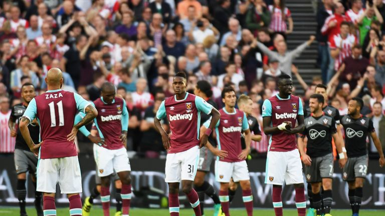 West Ham have struggled at their new home, losing 3-0 to Southampton last month