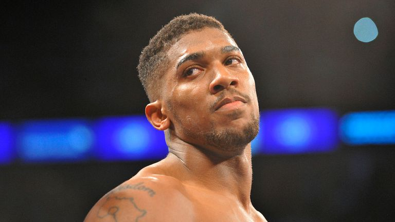 Anthony Joshua still needs an opponent for December 10