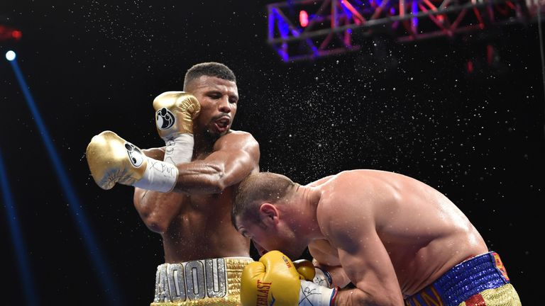 Badou Jack drew with Lucien Bute on the same Washington card when DeGale retained his title
