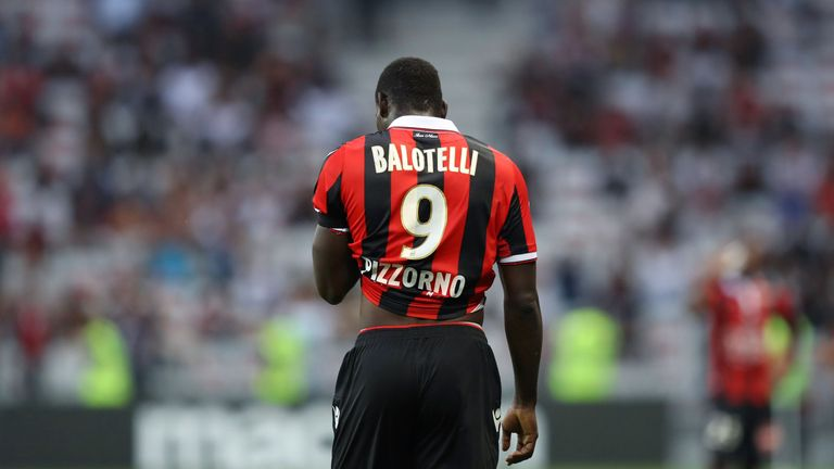 Mario Balotelli had a mixed afternoon for Nice