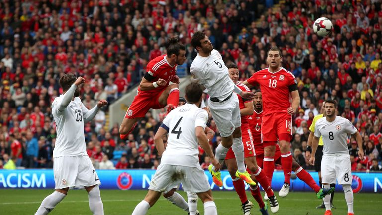 Bale headed the opener