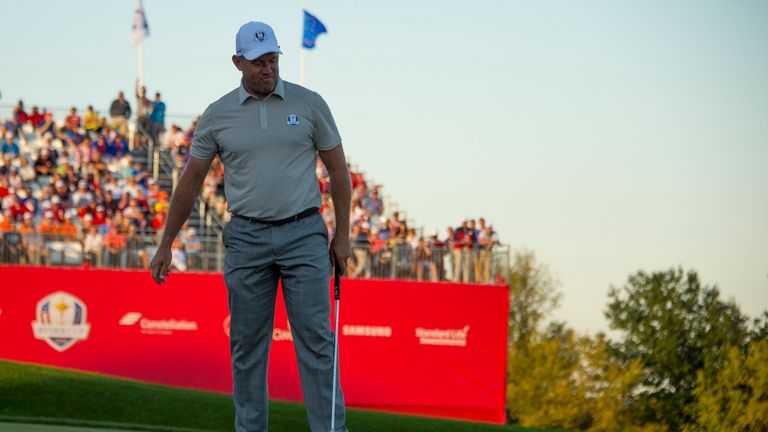 Lee Westwood failed to earn a point from his three matches