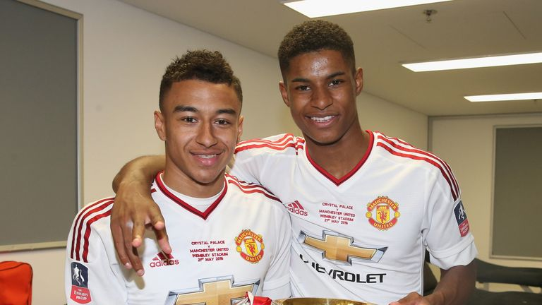 Jesse Lingard and Marcus Rashford are both in the latest England squad